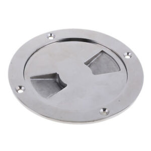 4//6//8 Inch Round Hatch Cover Non-Slip Deck Plate for Marine Boat Kayak Canoe Ban