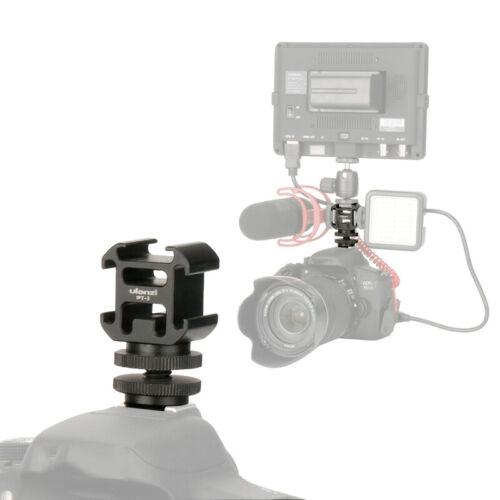 For Ulanzi PT-3 Hot Shoe Extend Mount Adapter for Canon Nikon Pentax DSLR Camera