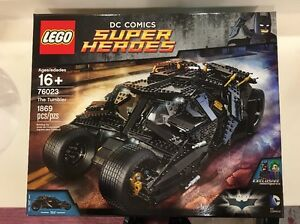 New-Lego-super-heroes-The-Tumbler-76023-Fast-Free-Shipping