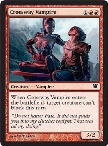 Magic Card 4x MTG: Crossway Vampire Red Common Innistrad ISD