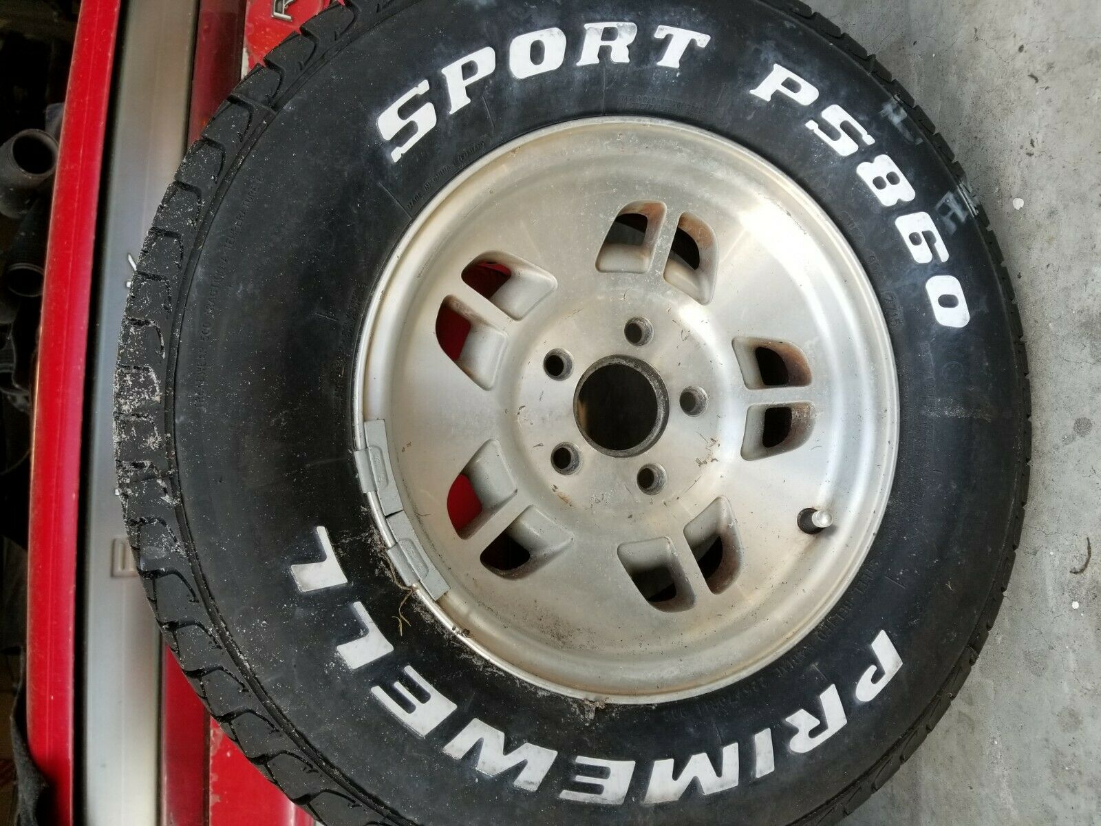 3 Ford Ranger rims with low mileage tires 1 steel wheel with low mileage tire