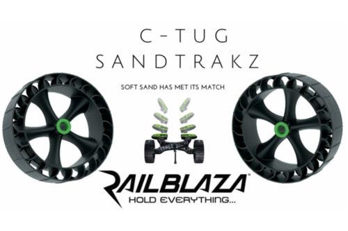 Railblaza C-TUG Sandtrakz Transportwagen weichen Gummireifen Trolley 50-0006-71