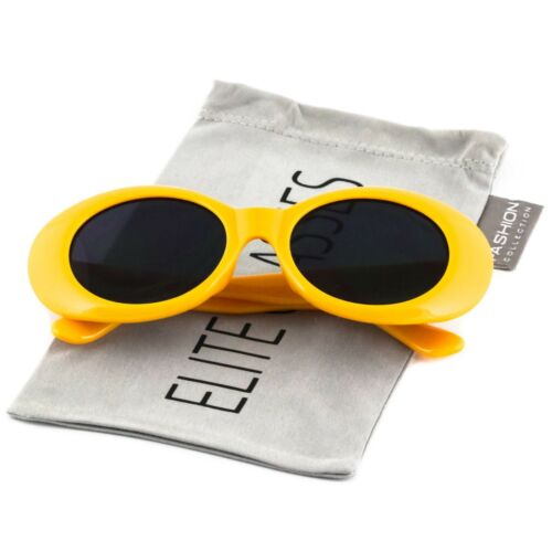 3 PACK PAIRS COMBO Clout Goggles Solid Frame Oval Mod Rapper Hypebeast Glasses