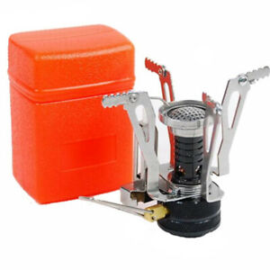 Mini Camping Outdoor Gas Stove Portable Backpacking Cooking Picnic Split Cooker