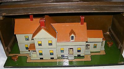 DOLL HOUSE STLYE CONVENT RECTORY ORPHANAGE VTG 1940'S UNUSUAL FIND