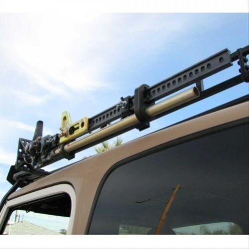 "Garvin Industries 29904 Roof Rack Hi-Lift Jack Mount for 4/""H Wilderness Rack"