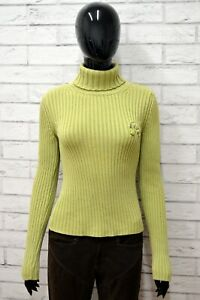 Maglione-REPLAY-COLLECTION-Donna-Taglia-Size-XL-Cardigan-Pullover-Sweater-Verde