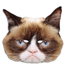 Grumpy Cat Official Single Animal 2D Card Party Face Mask funny cute cat feline