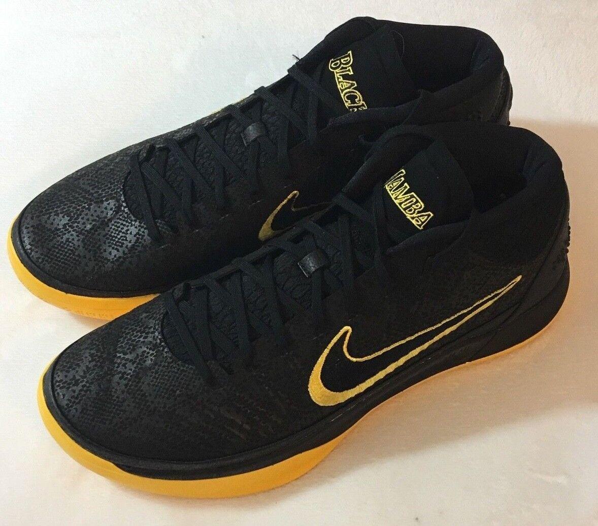 Nike kobe a.d. citt met bm edizione della citt a.d. gli uomini basket oro nero aq5164-001 sz 13 cbf4ab
