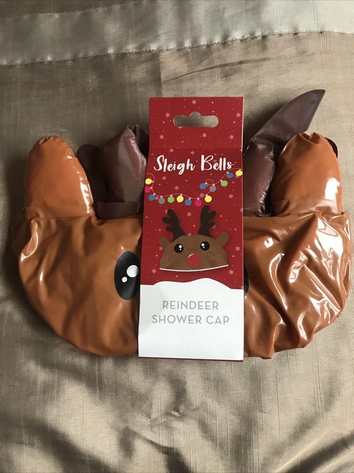 Reindeer Shower Cap