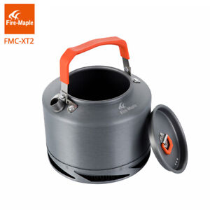 701-800ml Stainless Steel Camping Hiking Outdoor Kettle Campfire Coffee Pot R2E2