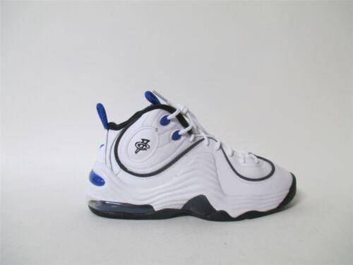 Nike Air Penny 2 II White Blue Black Orlando GS Grade School Sz 6 820249-100