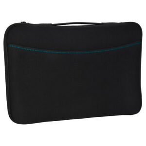 Logitech-Black-Portable-Laptop-Notebook-Sleeve-Case-Cover-For-15-15-6-034-HP-Dell