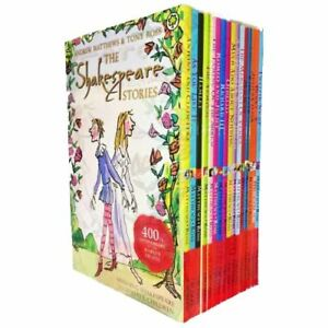 Shakespeare-Children-039-s-Stories-16-Books-Gift-Box-Set-Complete-Collection-PACK