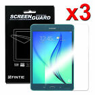 3 x Clear Premium Screen Guard Protector for Samsung Galaxy Tab A 8.0
