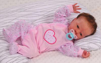 Strampler Baby Schlafanzug 44 50 56 62 68 Overall Einteiler Reborn Neugeborene