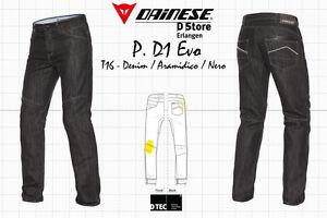 NEW-DAINESE-JEANS-PANTS-D1-EVO-DENIM-ARAMIDICO-NERO-SIZE-42