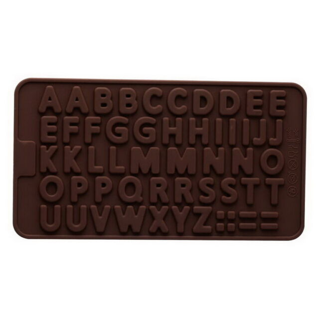 New Alphabet Silicone Cake mold decorating fondant cookie chocolate mould UL