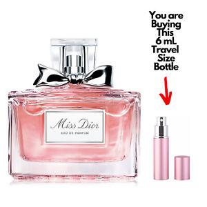 MISS DIOR Eau de Parfum 6mL Travel Size Spray Bottle Women Perfume Sample