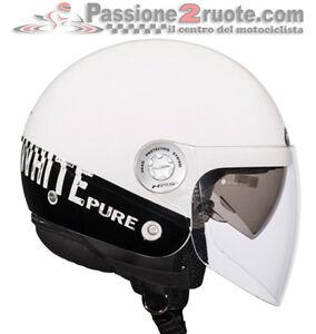 Casco-Givi-jet-10-8-Urban-J-bianco-nero-moto-scooter-helmet-casque-helm
