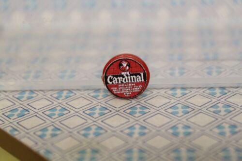 Maison de Poupées Nettoyage Disque L Tin = Cardinal polonais