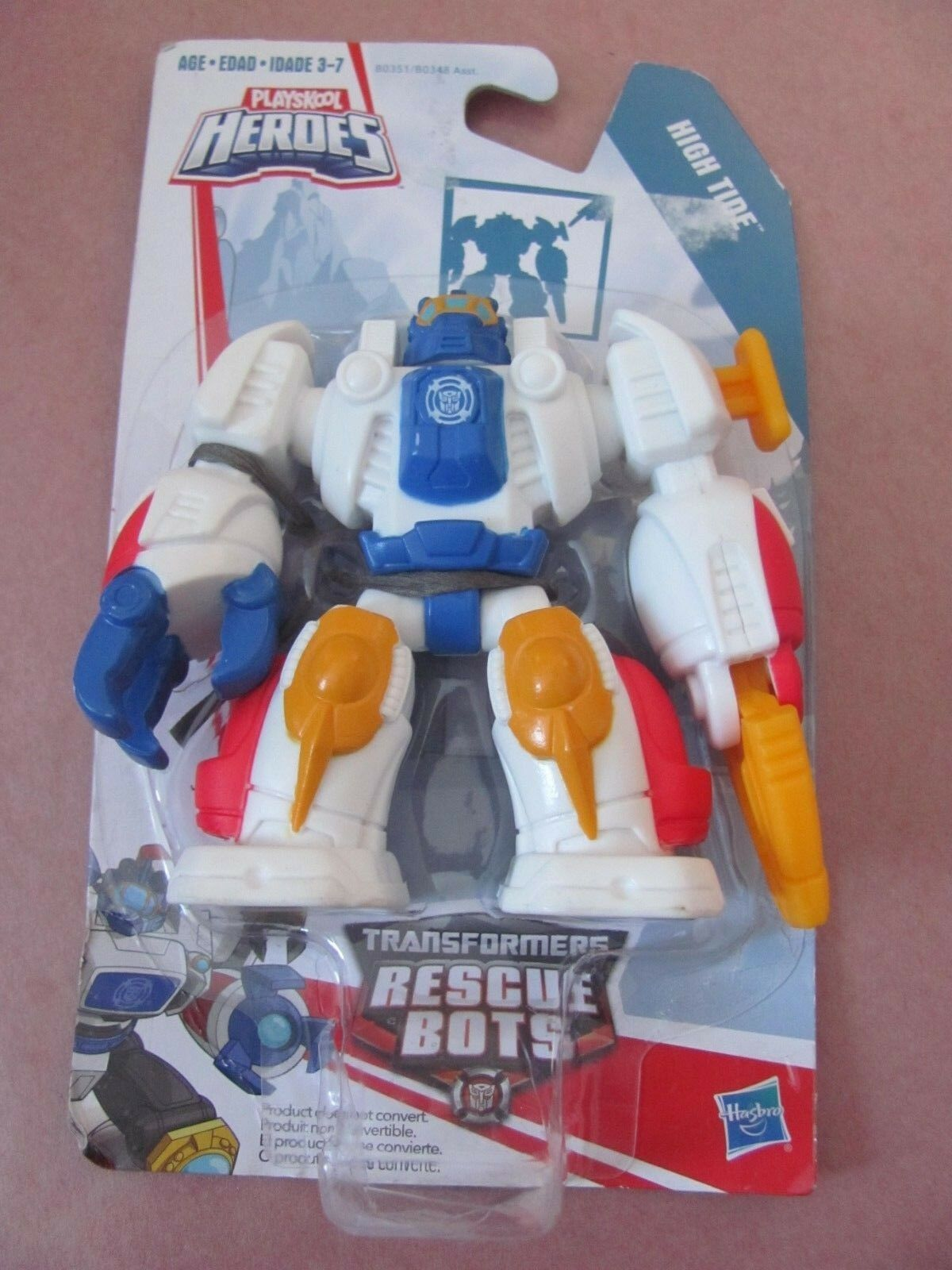 Transformers Rescue Bots High Tide 3   Playskool Heroes Nuovo Doesn'T Transform