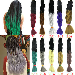 24-039-039-100g-Ombre-Jumbo-Braid-Hair-Twist-Crochet-Braid-Synthetic-Hair-Extensions