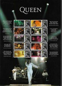 Queen-2020-Freddie-Mercury-Collectors-sheet-Postage-stamp-Great-Britain-new-mnh
