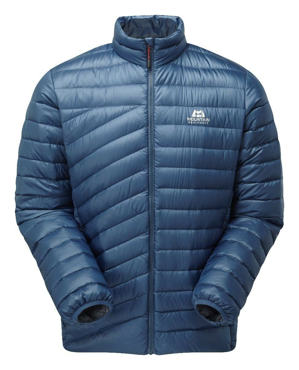 Mountain Equipment Earthrise Chaqueta Hombre Ligero Plumón para Denim