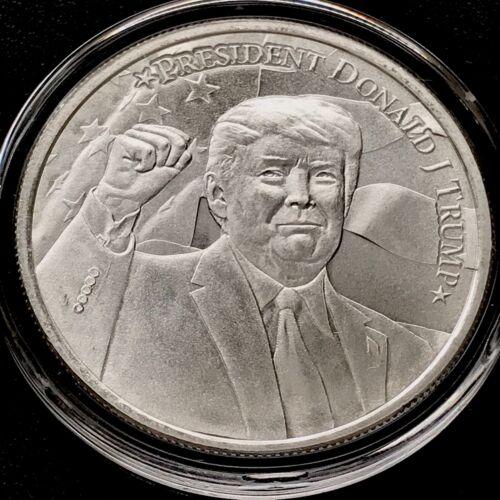 Donald Trump 2020 President America MAGA USA 1 oz 999 Fine Silver Round JD446