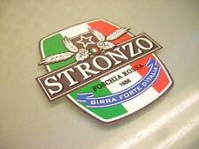 "MOTORCYCLE MOTORBIKE RACING TANK STICKER FAIRING SPONSOR ""STRONZO BEER"" GTA V"