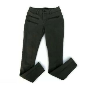 Ladies-Olive-Green-Skinny-Jeans-CRED-NY-SIZE-3-Juniors