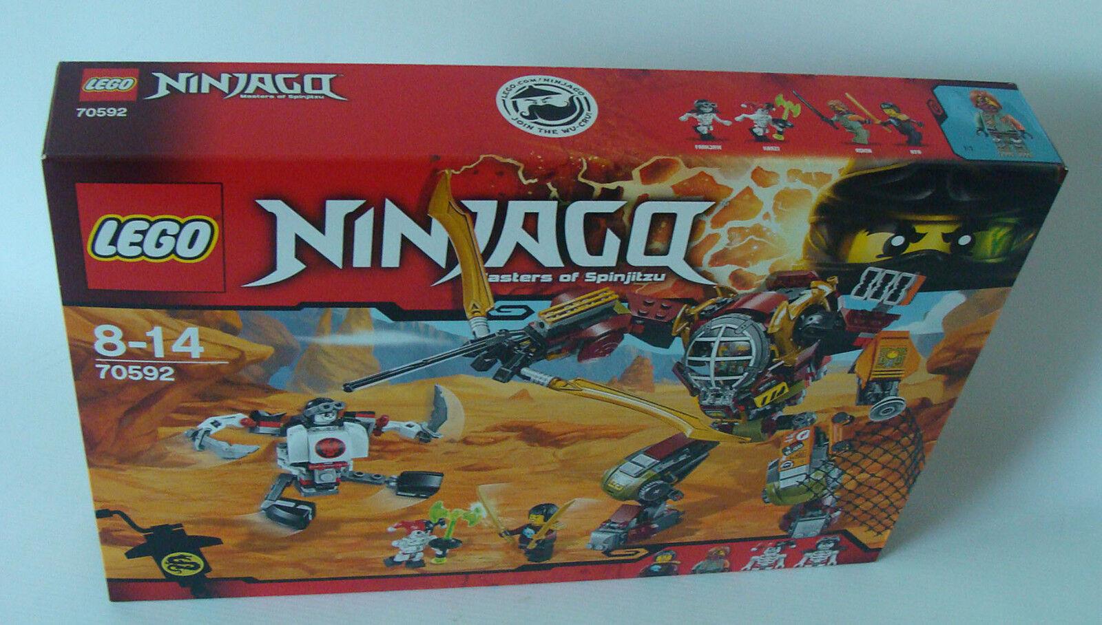 Lego® Ninjago 70592 - Schatzgräber M.E.C. 439 Teile 8-14 Jahren - Neu