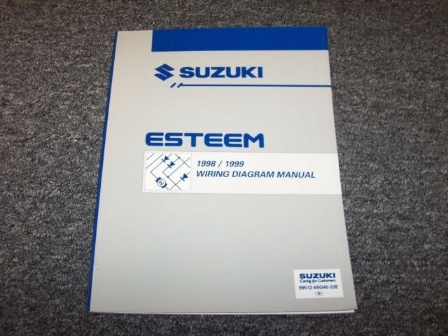 1996 1997 Suzuki Esteem Sedan Factory Original Wiring