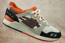 Asics Gel Lyte III White Orange Black Athletic Running Training Shoes Mens 11