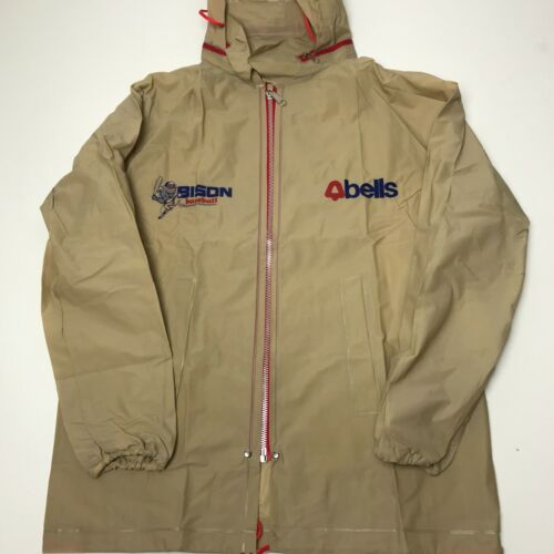 Vintage Buffalo Bisons Rain Jacket 80s 90s Small M