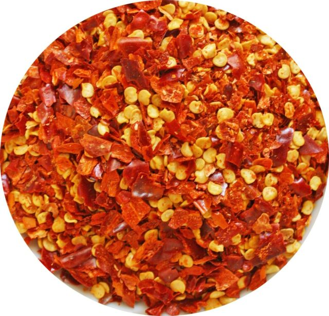 Crushed Red Pepper Chili Flakes  - 1-2-4-8-16oz - Chili Flakes (Crushed)