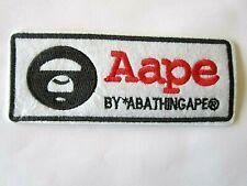 Bathing Ape Bape Round Small Iron On Patch