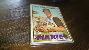 1967-TOPPS-ELROY-FACE-AUTOGRAPHED-BASEBALL-CARD