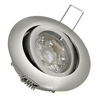 Kamilux® K9451 5w Gu10 Led Lampe Einbaustrahler Einbauleuchte Rahmen Einbauspot, A+, A+