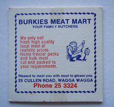 BURKIES MEAT MART 28 CULLEN RD WAGGA WAGGA 253324 COASTER