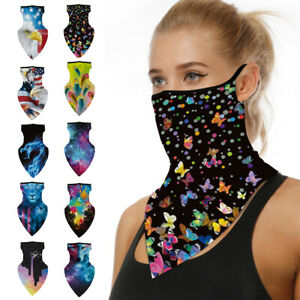 Motorcycle Bicycle Bandana Tube Head Scarf Neck Gaiter Face Mouth Cover Unisex