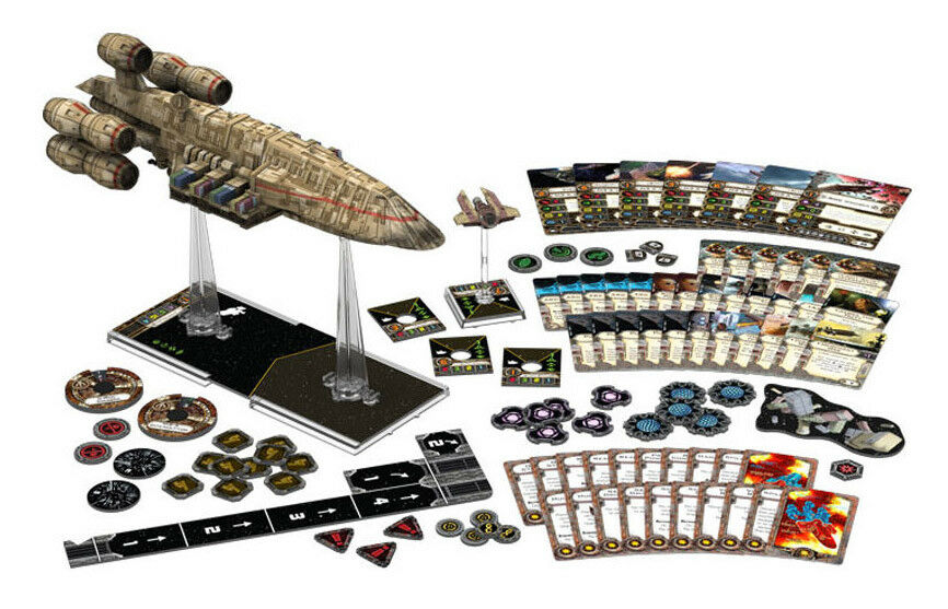 Star Wars X-Wing Incrociatore C-ROC Expansion Miniature Game ITALIANO