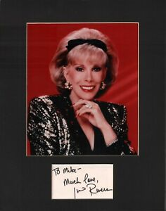 Joan-Rivers-Signed-Autographed-Cut-Matted-11x14-w-COA-073019DBT2