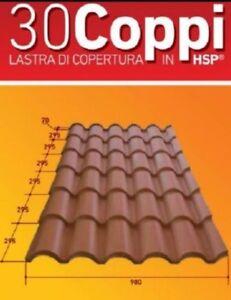 TECNO-IMAC-LASTRA-COPERTURA-PANNELLO-TETTO-TETTOIA-ISOLANTE-30COPPI-1-84X0-98M