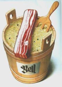 Original-vintage-poster-BELL-BACON-SAUERKRAUT-1963-Stoecklin