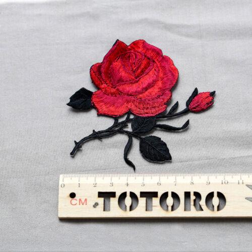 Vestido de Boda Vestido De Novia motivo Rosa Flor Encaje Bordado Apliques Adorno 1 PC