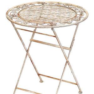 Lifestyle Gartentisch Rund Chalet Table Eisen Tisch Mobel Antik Stil