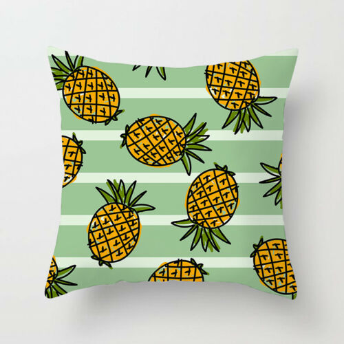 Tropical Plants Cactus Polyester Pillow Case Throw Cushion Cover Home Decor
