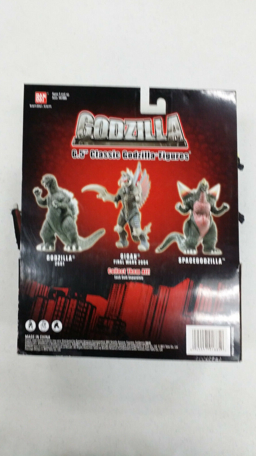 Godzilla 6.5 inch Action Wars Figure - Space Godzilla Final Wars Action 01dfd5